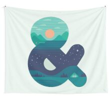 Day & Night Wall Tapestry