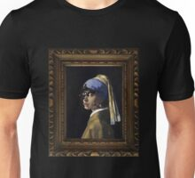 Borg with a Pearl Earring Unisex T-Shirt
