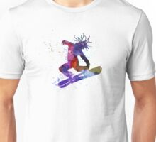 young snowboarder Unisex T-Shirt