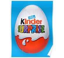 Kinder Surprise Chocolate Egg Poster