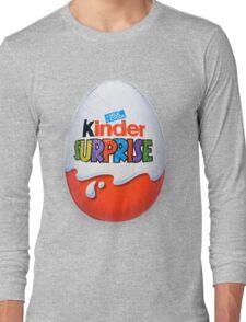 Kinder Surprise Chocolate Egg Long Sleeve T-Shirt