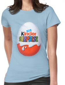 Kinder Surprise Chocolate Egg Womens Fitted T-Shirt
