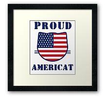 Proud Americat Framed Print