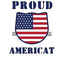Proud Americat Photographic Print