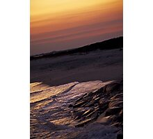 Warm Waves Photographic Print