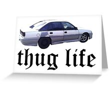 VN Commodore Thug Life Greeting Card