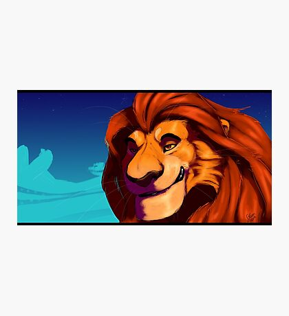 The Lion King - Mufasa Photographic Print