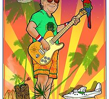 Jimmy Buffet, Miami Florida by javajohnart