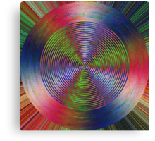 0998 Abstract Thought Canvas Print