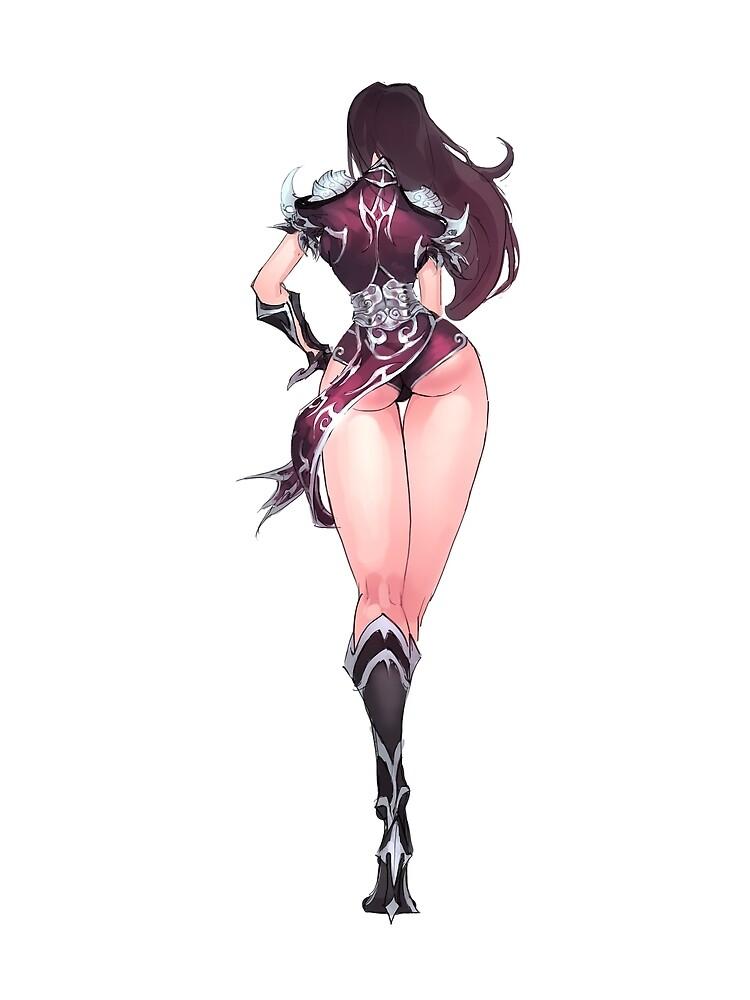 Manga Girl Concept Art 3 by BitGem