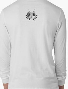Majora's Mask (Black) Long Sleeve T-Shirt