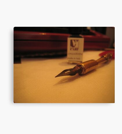 Old Quill Canvas Print