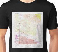 USGS TOPO Map Arizona AZ Tucson North 313830 1957 24000 Unisex T-Shirt