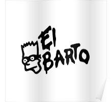 El Barto Poster