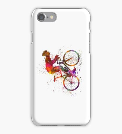 cyclist road bicycle iPhone Case/Skin