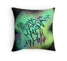 Suicide Squad Joker Harley Quinn Throw Pillow
