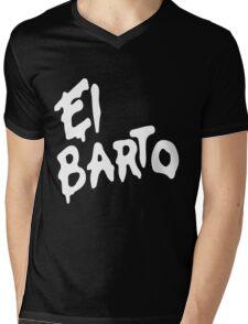 El Barto Mens V-Neck T-Shirt