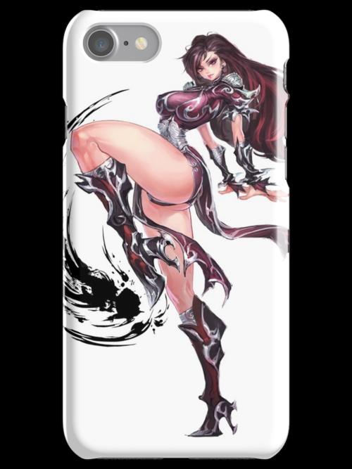 Manga Girl Concept Art by BitGem