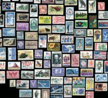 US Mail Sticker