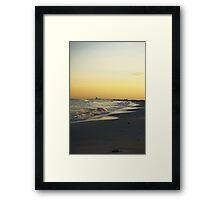 Atlantic City Skyline, Holgate LBI NJ Framed Print