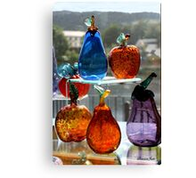 Window Glassware ~ Make Your Own Rainbow! Canvas Print