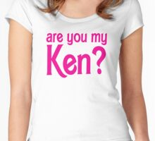 Are you my Ken? Women's Fitted Scoop T-Shirt