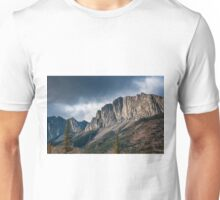 The Rockies at Exshaw Unisex T-Shirt
