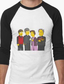 Father Ted - Simpsons Style! Men's Baseball ¾ T-Shirt