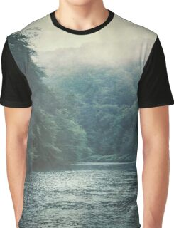 Valley and River Graphic T-Shirt