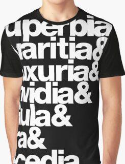 saligia (latin) Graphic T-Shirt