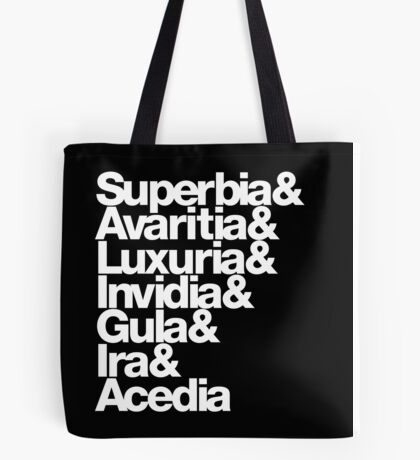 saligia (latin) Tote Bag