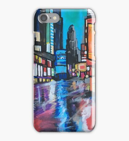 Going downtown iPhone Case/Skin