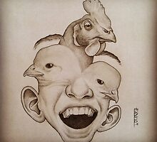 Chicken Face by Marcoapc