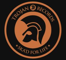 "TROJAN RECORDS "" SKAD'S FOR LIFE "" One Piece - Long Sleeve"