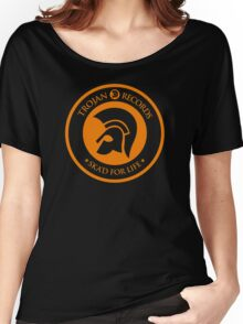 "TROJAN RECORDS "" SKAD'S FOR LIFE "" Women's Relaxed Fit T-Shirt"
