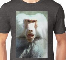 Baboon in watercolor Unisex T-Shirt