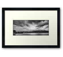 Big Snow - Tasman and Wellington Framed Print