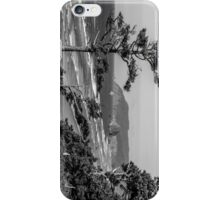 Cannon Beach View- Black and White Perspective #2 iPhone Case/Skin