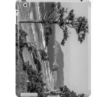 Cannon Beach View- Black and White Perspective #2 iPad Case/Skin