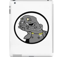 Power armor spoderman iPad Case/Skin