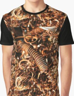Abstract Industrial Background Graphic T-Shirt