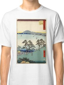 Ohiso - Hiroshige Ando - 1855 - woodcut Classic T-Shirt