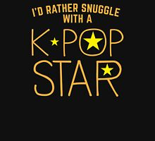 I'd rather snuggle with a k-pop star Unisex T-Shirt