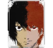 Death Note L vs Light iPad Case/Skin