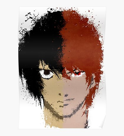 Death Note L vs Light Poster