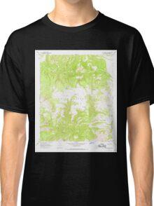 USGS TOPO Map Arizona AZ Willow Mtn SE 314135 1967 24000 Classic T-Shirt