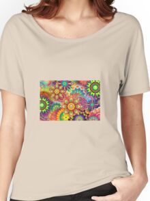 Floral Women's Relaxed Fit T-Shirt
