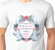 Simon Vs. The Homo Sapiens Agenda Quote Unisex T-Shirt