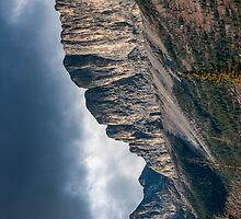 Exshaw Mountain Perspective #2 by mspixvancouver