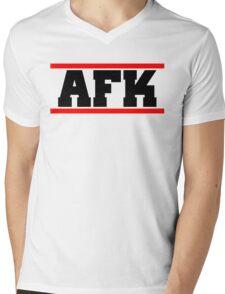 Afk Mens V-Neck T-Shirt